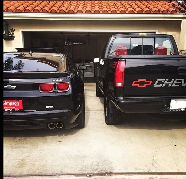 Camaro Zl1 And Silverado 454ss I Fucking Love Trucks