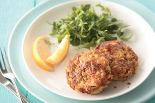 kraft tuna cakes.  i LOVE tuna cakes...and this recipe sounds a little more interesting than mine.  :)