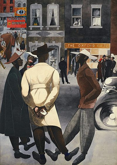 Edward Burra: Zoot suits (1948)