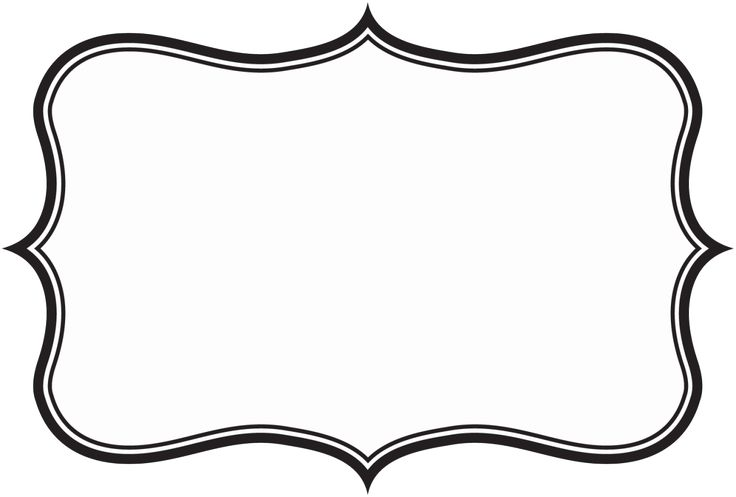 label frame template - photo #1