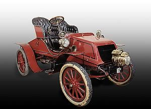 Winton touring car, 1903    In the spring and summer of 1903, H. Nelson Jackson completed the first transcontinental automobile trip in this car.    #American #Automotive #Car