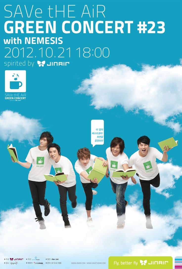 GREEN CONCERT #23 with NEMESIS (OCT 21, 2012) #JinAir #jinair #SAVetHEAiR