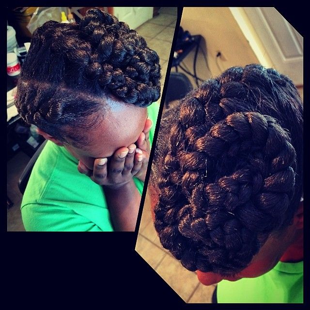 Crochet Goddess Braids : ... on Pinterest Goddess braids, Protective styles and Crochet braids