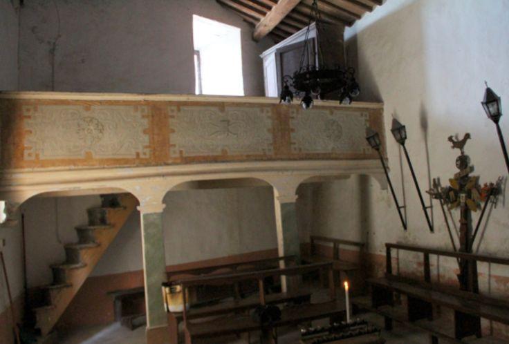 Medioeval church Montegiovi GR, Tuscany