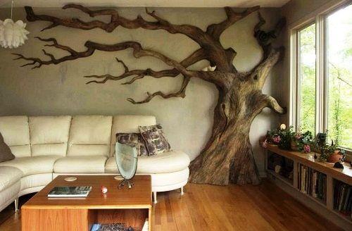 DIY Wall Art tree | tree | Curiosities By Dickens