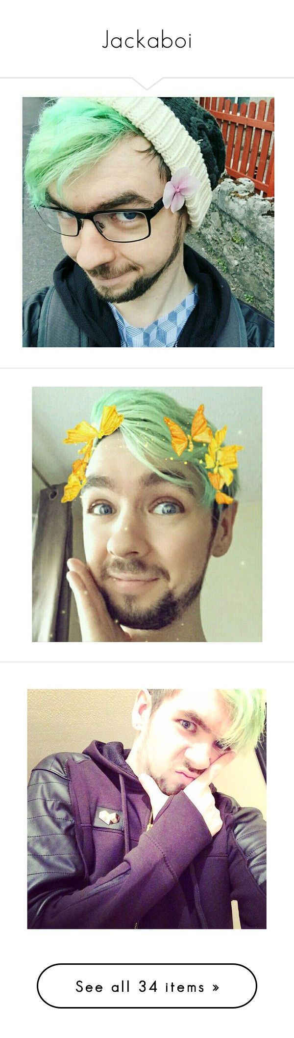 """""""Jackaboi"""" by sparklecookie21 ❤ liked on Polyvore featuring septiplier, art, youtubers, jacksepticeye, H&M, Love Quotes Scarves, Vans, Fujifilm, Madewell and New Look"""