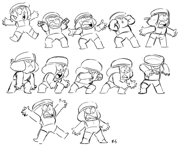 """Rebecca Sugar - """"Charlyne's reads for Ruby were so huge, I had to do new drawings just to match them! Here are a few!"""""""