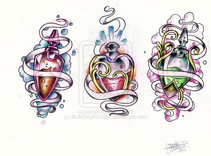 43 best potion bottle tattoo ideas images on pinterest bottle tattoo potion bottle and tattoo. Black Bedroom Furniture Sets. Home Design Ideas
