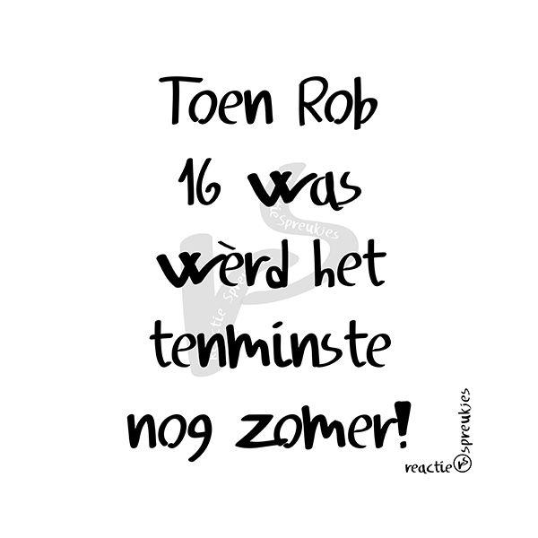 Rob (de Nijs) en de zomer (© Heidi, Reactie Spreukjes) :) #de #nijs #het #werd #zomer #humor #Nederlands #lied #vroeger #1977