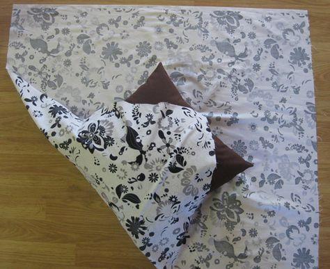 no sew pillow cover & 25+ unique No sew pillows ideas on Pinterest | No sew pillow ... pillowsntoast.com