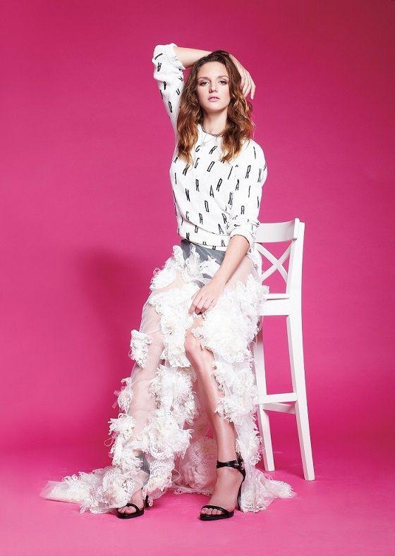 Olympic swimmer Katinka Hosszu #styledbyzipy #weddingdress #weddinggown