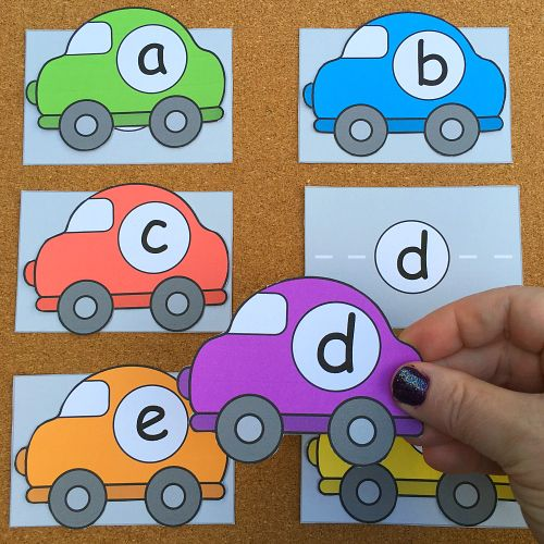 Car Alphabet Match (from Alphabetland)