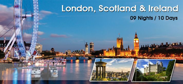#EuropeGroupTours offers Customized #Holiday #TourPackages for #London #Scotland #Ireland 2015 from #Delhi.