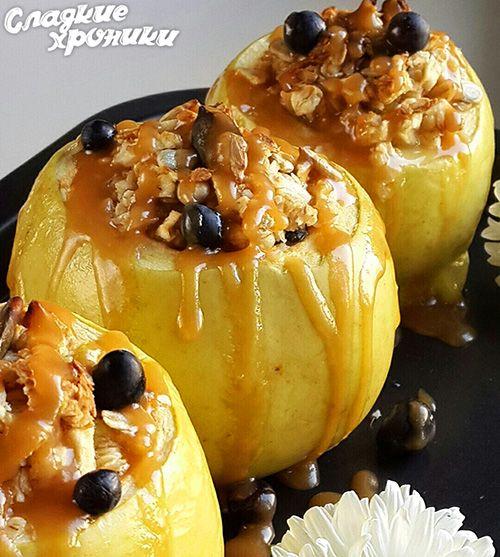 Готовим на даче: Запеченные яблоки с медом и «пьяные» груши в тесте