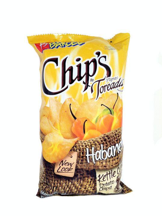 Barcel Chips Papas Toreadas Habanero 4.12 oz