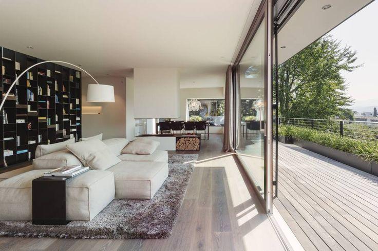 Wohnideen interior design einrichtungsideen bilder - Sichtschutz fenster erdgeschoss ...
