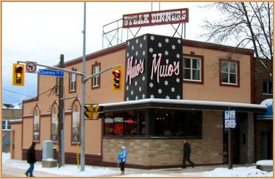 My favourite pizza place - Muio's in Sault Ste. Marie, Ontario, Canada