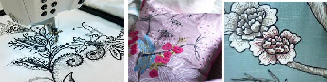 Embroidery: Not for the Old Anymore: Decor, Embroidery