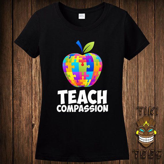 Hey, I found this really awesome Etsy listing at https://www.etsy.com/listing/225005597/funny-autism-awareness-teach-compassion