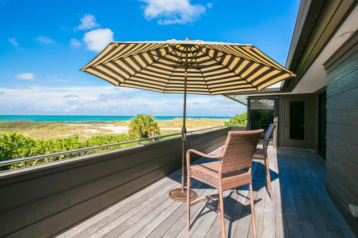 Watching the waves from your own beach side villa.   Yellowfish House is a new property located on the white, sandy beaches of Anna Maria Island, Florida.