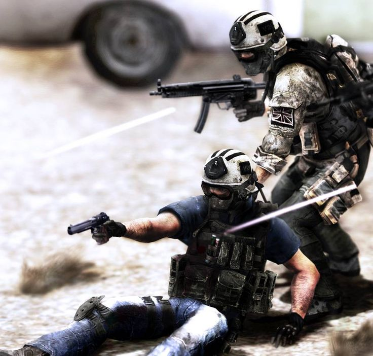 SF in Iraq 2nd version by arthuro12