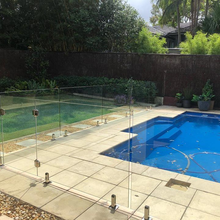 Nice one to end the week with.#framelessglass #poolfence #polarishinges