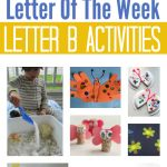 Letter Of The Week – Letter B Theme