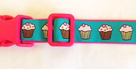 Cute Cupcakes Dog Collar