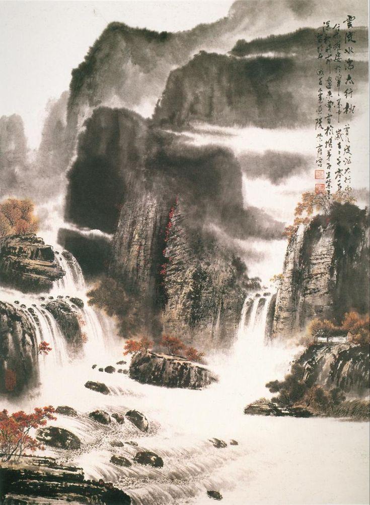 chinese art mountains - photo #46