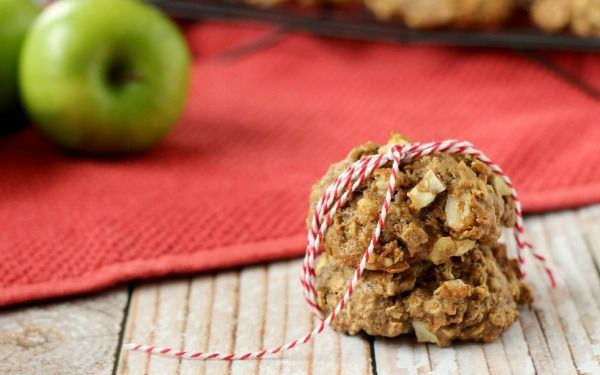 Apple Crisp Breakfast Cookies - web