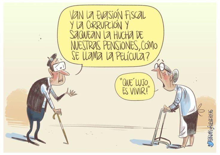 Vamos a dejar que nos roben las pensiones? (I de II)   Nueva Revolución