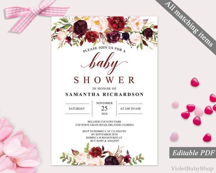 The 25+ best Baby shower invitation templates ideas on Pinterest - baby shower invitation templates for microsoft word