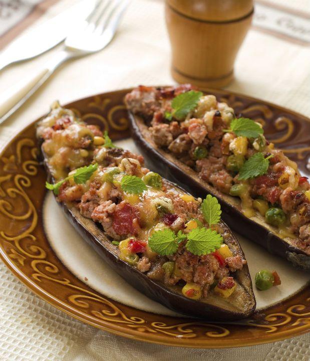 Papeton d'aubergine et quinoa