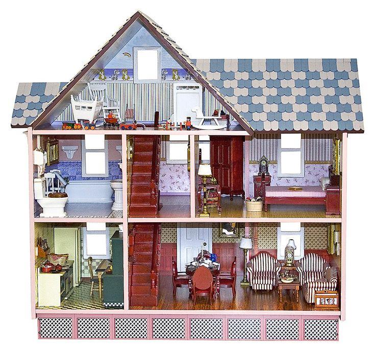 Melissa And Doug Victorian Dollhouse   ... Melissa And Doug Classic  Heirloom Victorian Doll