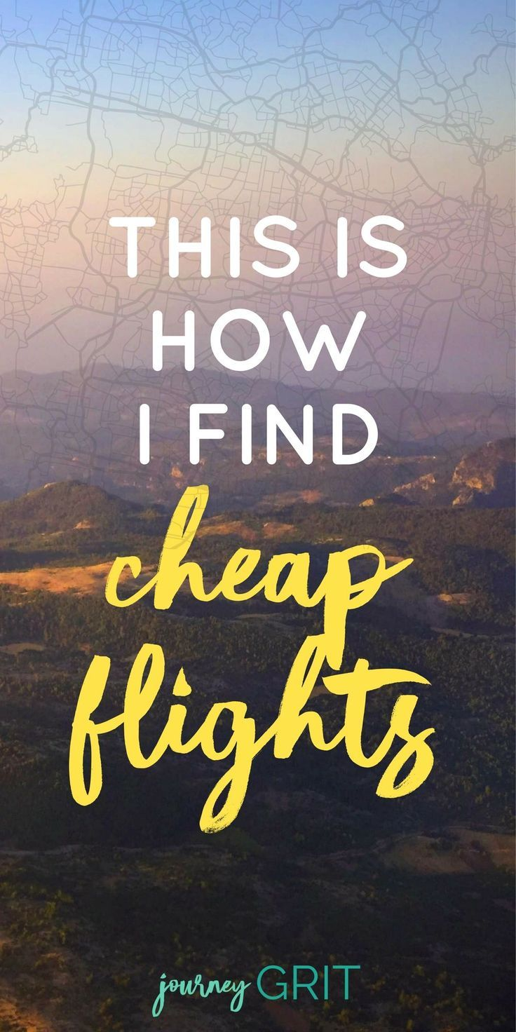"""How do you actually get a good travel deal online? Let's be honest, it's hard to find, especially considering all the silly travel """"advice"""" and travel hacks you hear out there. Click now to see how I find cheap flights online! travel tips / travel hacks / travel planner / cheap flights / cheap airline tickets #traveltips #travel #travelhacks #journeygrit"""