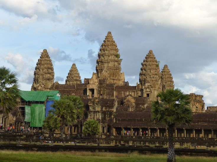 The amazing Angkor Wat