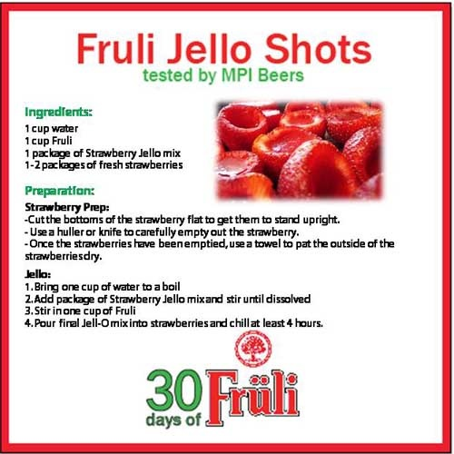 Fruli Jello Shots