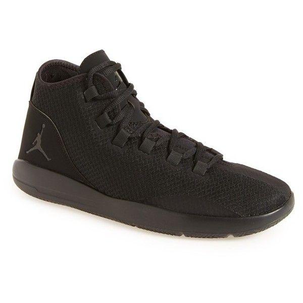 Men's Nike 'Jordan Reveal' High Top Sneaker ($90) ❤ liked on Polyvore featuring men's fashion, men's shoes, men's sneakers, nike mens shoes, mens hi tops, mens high top shoes, mens high top sneakers and nike mens sneakers