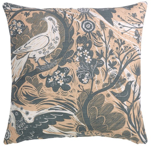 Mark Hearld Doveflight - 45cm cover – St. Jude's Fabrics