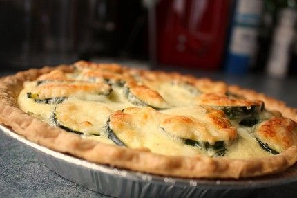 Weight Watchers Savory Zucchini Pie recipe – 1 WW point, 2 WW points plus