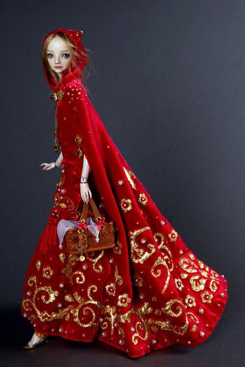 Little Red Riding Hood  Enchanted Doll  Marina Bychkova