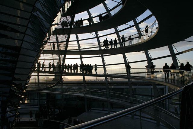 Architechture Reichstag Dome