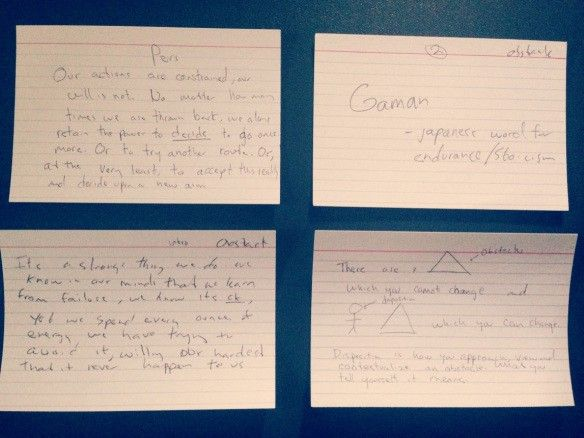 The Incredible Creative Power Of The Index Card Writing A Book