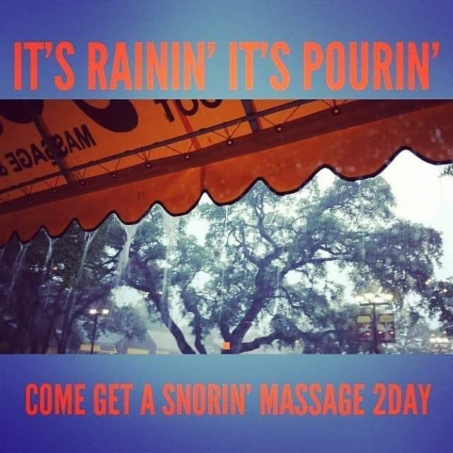 I've noticed that when it rains in #sanantonio people cancel their massages. Why?! Coming from a Seattle-ite rainy days are the BEST days to cuddle up and get a massage.  While you are awake right now late at night listening to the #thunderstorm (because your kids or dog are shivering scared next to you like mine is) why doncha go over to our website or better yet download our app (Heeling Sole on iTunes or GooglePlay) & schedule yourself a massage with us tomorrow.  #sanantoniomassage…