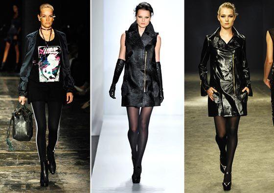 O estilo roqueiro é sucesso no mundo da moda desde o inverno passado, onde ele foi uma forte tendência, nesse inverno de 2011 ele está de volta, com