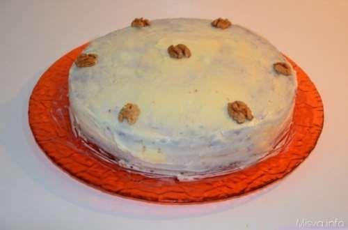inglesi ricette Carrot cake