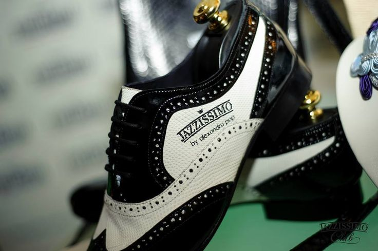 Oxford Shoes Black&White for Jazzissimo by Alexandru Pop