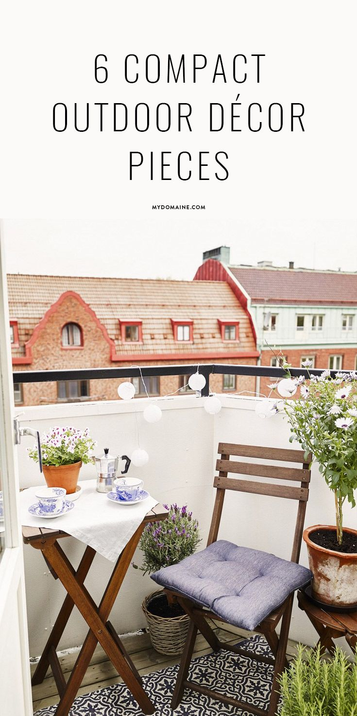 best 25 small balcony furniture ideas on pinterest small balcony decor small balconies and. Black Bedroom Furniture Sets. Home Design Ideas