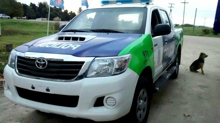 Toyota Hilux . Policia de la Provincia de Buenos Aires