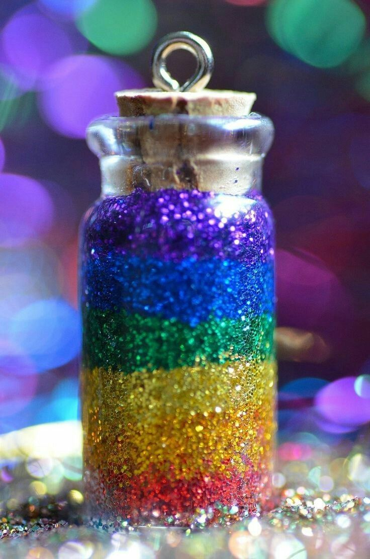 Fae dust - looks just like glitter. Naturally, Fae dust wouldn't look anything like are nasty human dust.